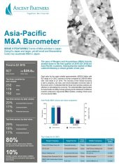 Asia-Pacific M&A Barometer Issue 5