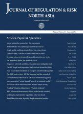 Journal of Regulation & Risk, North Asia